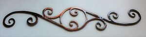 Decorative Scroll 12quot; Metal Wall Art Decor $13.98