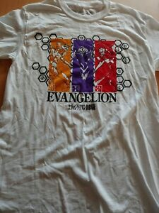 Evangelion Anime T Shirt Mens Small New Without Tag Imperfect Thread Rear Collar $5.99