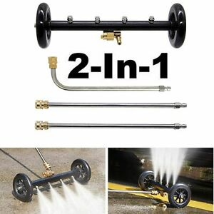 Pressure Washer Undercarriage Cleaner 16 Inch Surface 4000PSI Underbody Car Wash $52.39