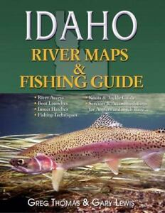 Idaho River Maps amp; Fishing Guide 2015 River Maps and Fishing Guides