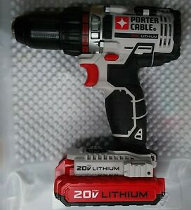 Porter Cable 20v Max Drill Driver PCC600 with Battery PCC680L. $75.00