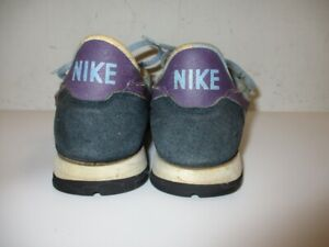 Vintage 1983 NIKE Blue and Purple Low Sneakers Running Shoes Size 7.5 $50.00