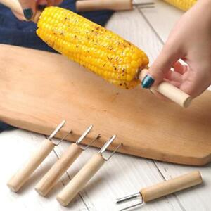 Food Forks Corn Barbecue Fork Picnic Camping Corn Holders Roasting Stick YS