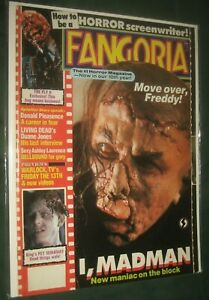 FANGORIA # 80 MAD MAN SPLATTER VF NM Bagged and boarded
