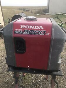 Honda EU3000is 3000 Watt Portable Quiet Inverter Parallel Gas Power Generator