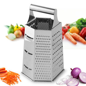 Cheese Grater Vegetable Slicer Stainless Steel Food Chopper Dicer Cutter Kitchen $8.99