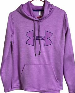 Under Armour Hoodie Size SM P Pink Storm Stretch Pull Over Outerwear Activewear $16.99