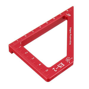 Degree Scribing Tool Aluminum Alloy For Woodworking Marking Angle Ruler $15.69