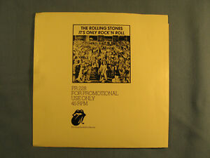 The Rolling Stones Near MInt Promo Only Sleeve quot;Time Waits For No Onequot; $49.95