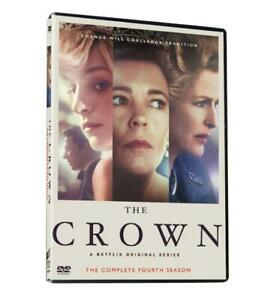 The Crown:The Complete Season 4 DVD3 Disc Set New Sealed $12.99