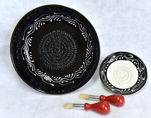 Ceramic Grater Set of Small amp; Large plates from Spain $20.00