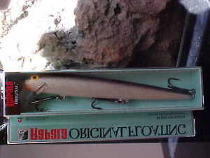 RAPALA Original Floating F18 S Color SILVER for Bass Walleye Pike Pickerel Musky