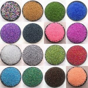 1000pcs 2 3 4mm Czech Glass Beads Seed Jewelry Spacer Loose Round Making Lot $1.29