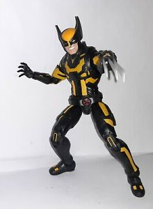 Custom Wolverine Black and Yellow suit 6quot; Action Figure Marvel legends $45.00