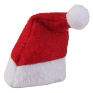 6Pcs Set Christmas Santa Claus Doll Hat Funny Toppers Festive Cute Decoration US