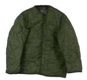 U.S. MILITARY M65 Quilted FIELD JACKET LINERODSize Large Excellent Condition