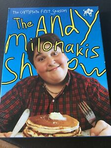 DVD: The Andy Milonakis Show The Complete First Season Carson Daly Wubbie W $14.99
