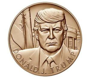 DONALD TRUMP BRONZE MEDAL 1.5 INCH DIAMETER SEE NOTICE ABOUT PRICE INCREASE $45.00