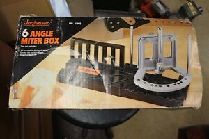 Jorgensen 6 Angle Mitre Box And Buck Brothers Saw $20.00