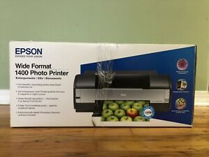 NEW Epson Stylus Photo 1400 Wide Format Color Inkjet Printer C11C655001 $1349.95