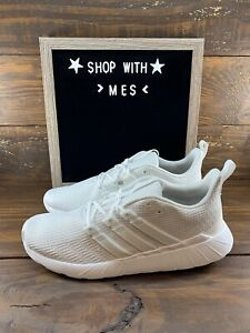 Adidas Questar Flow Mens Running Shoes in white EG3191 New $55.99