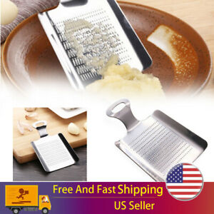 Ginger Grater Stainless Steel Garlic Grinder Kitchen Fruit Ginger Grinding Tool $7.49