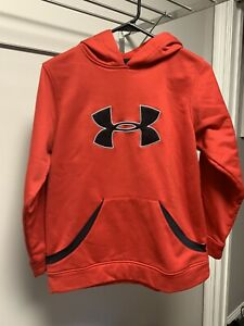 Boy's Youth Under Armour Hoodie Size L Large EUC $15.00