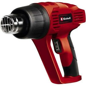 Einhell Hot Air Gun With Accessories Nozzles Overheating Protection 2000 W $61.05