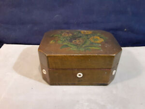 Antique Sewing Box Very Tiny Buttons on Card Clark#x27;s O.N.T. $54.99