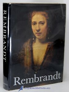 Rembrandt Paintings by Horst GERSON 1st ed. w over 730 illus. VG HC VG DJ 84741 $59.00