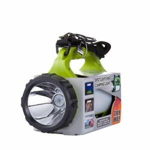 Led Spotligt Searchlight Lantern Built in Battery Camping Side Red White 5 Modes