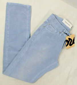 THE CORDS Mens 5 Pocket High Waist Straight Fit Corduroy Pant Blue Various NWT $24.99