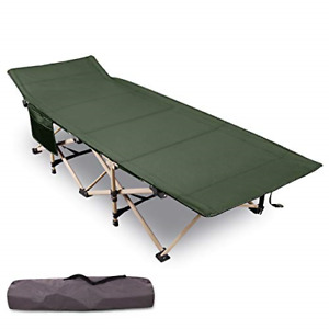 Varbucamp Folding 75#x27;#x27;x28#x27;#x27; Camping Cots for Adults Updated Sturdy Steel Heavy