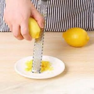 New Stainless Lemon Cheese Vegetable Zester Grater Peeler Slicer Kitchen Tool Ga $4.01