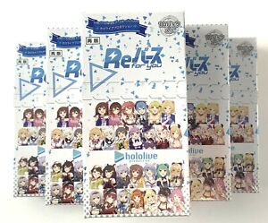 Hololive ReBirth For You Bushiroad TCG Japanese Booster Box New Sealed US SELLER