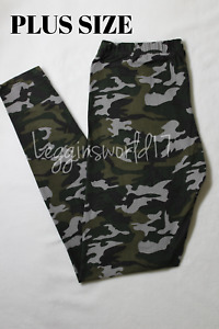 Army Camo Women Legging Comfortable Buttery Soft amp; Cute Camouflage Plus Size