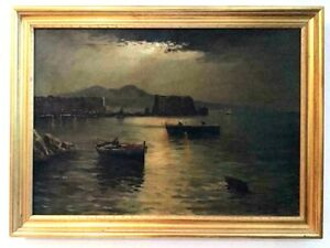 Masterful Original Antique Painting Giuseppe Musumeci 1902 LISTED Italian $1500.00