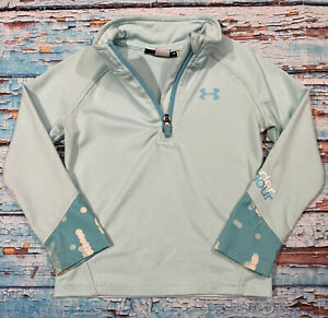 Baby UNDER ARMOUR Shirt Size 2T 1 4 Zip Green Long Sleeve $14.99
