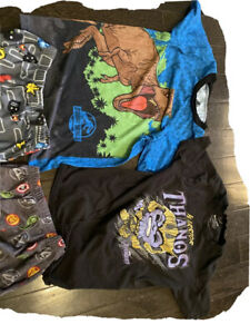 Youth Clothes Lot Avengers Jurassic World Video Games