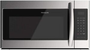 Frigidaire 1.8 Cu Ft 1000W 30 Over the Range Microwave Stainless Steel