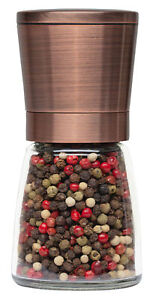 Pepper Grinder or Salt Shaker for Professional Chef Best Spice Mill with Copper
