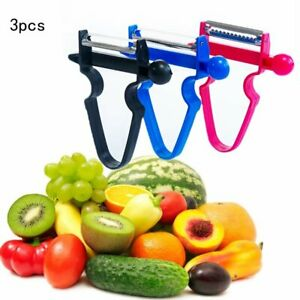 Kitchen Creative Multi function Three piece Paring Peeler Grater Peeler $5.79