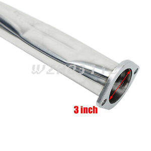 FOR 02 06 ACURA RSX DC5 TYPE S 4 OVAL MUFFLER ROLLED TIP RACING CATBACK EXHAUST $121.33