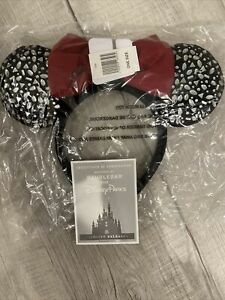 Disney Designer Minnie Mouse Ear Headband for Adults by BaubleBar in HAND $98.00