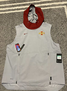 Mens Nike Xl Iowa State Sleeveless Jacket $100.00