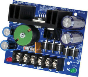 Altronix SMP5 Power Supply 6 12 24VDC Charger Single Output Board $54.30