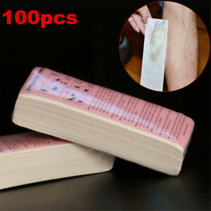 100PCS Depilatory Paper Waxing Strips Non woven Hair Removal Tools Face Leg US $5.94