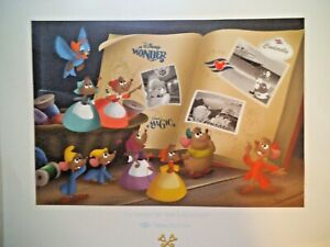 LIMITED EDITION DISNEY LITHOGRAPH A VOYAGE FIT FOR A PRINCESS $22.95