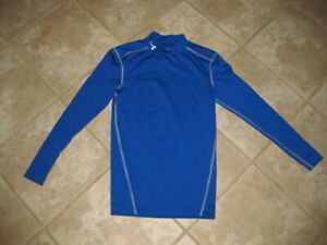 Men's Under Armour Cold Gear Mock Turtleneck Small $7.99