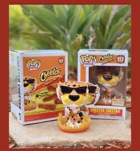 Funko Pop Icons Cheetos Chester Cheetah GITD #117 Box Lunch Exclusive *IN HAND*